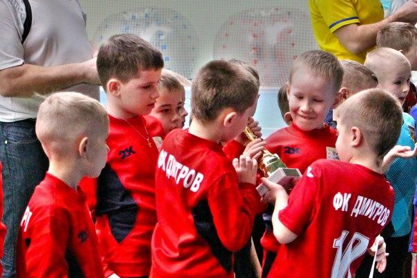 Первый турнир в Брянске наших малышей!